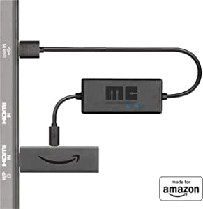 Mission USB Power Cable for Amazon Fire TV (Eliminates the Need for AC Adapter)
