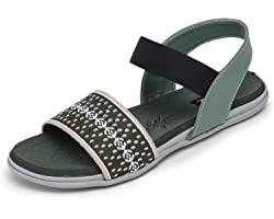 TRASE 46-027 Flat Sandals for Women