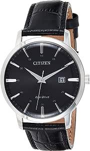 Citizen Mens Analogique Conduite économique Montre avec Bracelet en Cuir BM7460-11E