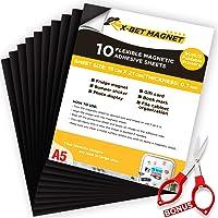 A5 Magnétique Autocollante Plaque Aimantée - 15cmx21cm - Papier Magnétique Souple - Feuilles Magnétiques - Papier…