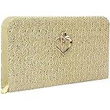 Trendyage Premium PU Leather Women's Handbag With Adjustable Strap (Cream Color)