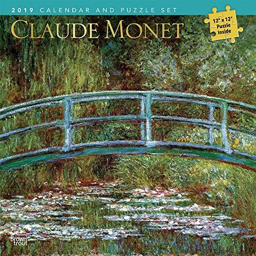 Monet, Claude 2019 Calendar + Puzzle