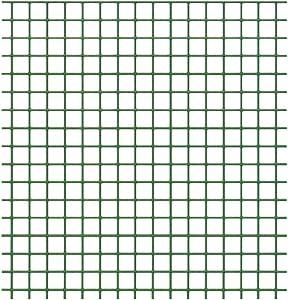 VERDELOOK Rete Metallica Multiuso plastificata Plastiquadra per recinzioni 0.5x10 m