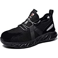 Safety Trainers Men Women Steel Toe Cap Work Shoes Lightweight Industrial Protective Shoes