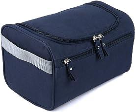 PETRICE Toiletry Case Organiser Bag (Navy Blue)