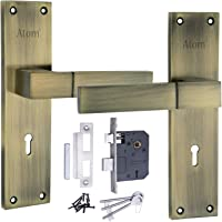 Atom lock AL-51 K.Y Ant. with Lezend Lock,Door lock,Mortise lock