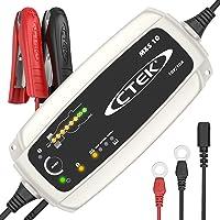 CTEK MXS 10 Chargeur de batterie entièrement automatique (Charge, maintient et reconditionne les batteries auto…