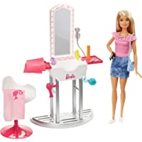 Barbie Salon Doll & Accessories - Blonde