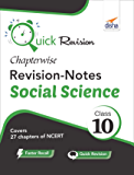 Quick Revision Chapterwise Revision Notes class 10 Social Science