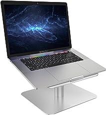 """Laptop Ständer, Lamicall Multi-Winkel Notebook Ständer : Universal Halter, Halterung, Stand, Dock, für Apple Mac Book, MacBook Air, MacBook Pro, Dell XPS, HP, Samsung, Lenovo andere 10""""~17"""" Notebooks - Silber"""