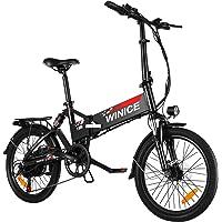 "VIVI E-Bike Klapprad, 20"" Elektrofahrrad, 350W Citybike Elektrisches Fahrrad mit herausnehmbarer 8 Ah Batterie, Shimano…"