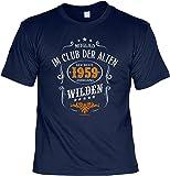 Cooles T-Shirt zum 60. Geburtstag T-Shirt mit Urkunde 1959 Jahrgang Geschenk zum 60 Geburtstag 60 Jahre Geburtstagsgeschenk 60-jähriger