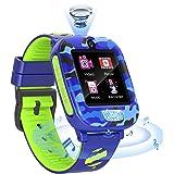 Fitonme Kinderen Smartwatch Telefoon, Kinderen Horloge Telefoon met SOS Muziekspel Videogesprek 2camera 6spel slim horloge vo