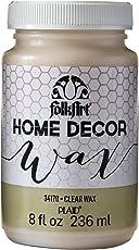 FolkArt Home Decor Wax (8-Ounce), 34170 Clear
