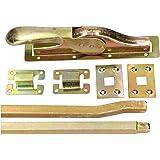 KOTARBAU® Toordrijvers poortsluiting 2500 mm deurbriegel deurbeslag deurslot deurvleugel deurvergrendeling garageslot poortac