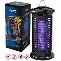 Aerb Mosquito Killer Lamp Bug Zapper, Electric Insect Killer UV Light Trap, 1000V Powerful High Voltage, Electric Waterproof Light for Indoor&Outdoor