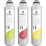 smardy blue 3in1 vervangingsfilter set voor osmosesystemen R100 miran, xiva, noura en zagora - Filterwissel om de 12 maanden