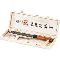 Couteau à viande avec lame forgée main et manche en bois