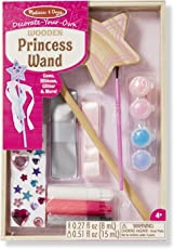 Melissa & Doug DYO Princess Wand, Multi Color