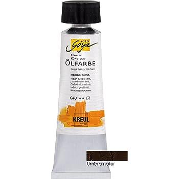 c4d4153418 Kreul 33516 - Solo Goya Feinste Künstlerölfarben, 55 ml Tube, umbra natur