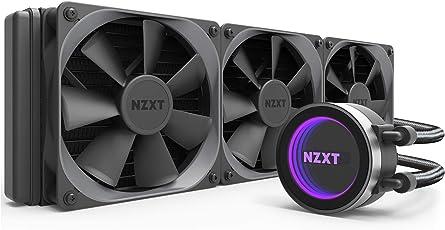 NZXT Kraken X72 AIO Cooler 360mm Black - RL-KRX72-01