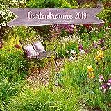 Gartenträume 2019: Broschürenkalender mit Ferienterminen. Landleben und Gärten. 30 x 30 cm - Wandkalender