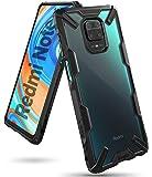 Ringke Coque pour Xiaomi Redmi Note 9 Pro, Coque pour Redmi Note 9S [Fusion-X] Antichoc de Protection [Militaire Défense] Résistant aux Rayures PC Rigide TPU Bumper pour Coque Redmi Note 9S - Black