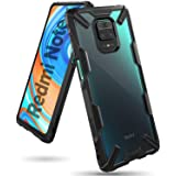 Ringke Fusion-X Designed for Xiaomi Redmi Note 9s / 9 Pro / 9 Pro Max Case, Transparent Back with Shockproof Heavy Duty Corne