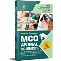 MCQ Animal Sciences: 2500+ Questions As per Latest VCI Syllabus (For ICAR-JRF, SRF, NET, ARS, CSIR/ICMR-JRF, UPSC, State…