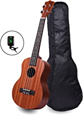 Kadence Wanderer Brown Soprano Ukulele with Bag and Tuner