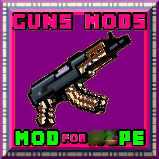 guns mods: for mcpe; 2018 (Craft Mold)