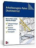 Arbeitszeugnis-Paket Architekt Note Eins bis Vier [Zip Ordner] [Download] -