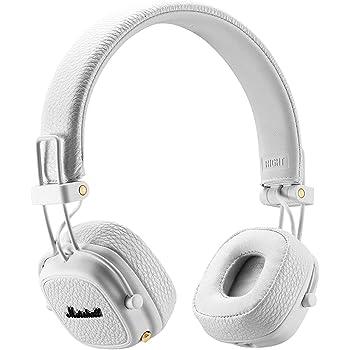 Marshall - Major II Bluetooth Headphones - White  Amazon.co.uk ... 7e73a4f246f2c