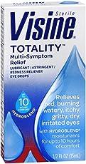 3 Pack - Visine Totality Multi-Symptom Relief Eye Drops 0.50 oz