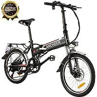 ANCHEER E-Bike Elektrofahrrad, 20 Zoll Pedelec Elektrisches Fahrrad mit Lithium-Akku (36 V 8Ah) & 250 W Motor & Shimano…