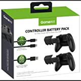 GameWill Rechargeable Controller Battery Pack [2-PACK] with [1200 mAh HIGH POWER capacity] for Xbox Series X and Series S (al