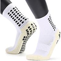 Unisex Non Slip Sport Soccer Socks, Breathable Comfortable Athletic Football/Basketball/Hockey Sports Grip Socks with…