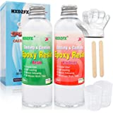 Epoxy hars 520ml/566g Kit - 1:1 verhouding Crystal Clear hars coating voor hout, bar, tafel, sieraden maken, ambachtelijke de