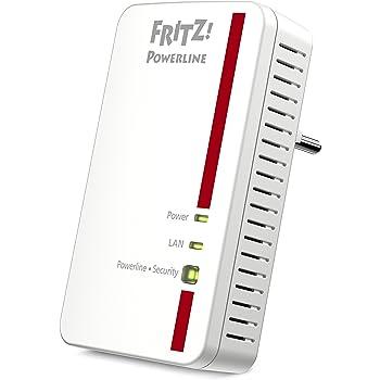 AVM Fritz Powerline 1000E Adapter (1.200 MBit/s, ideal für HD-Streaming oder NAS-Anbindungen)
