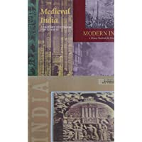 Ancient India History + Medieval India History + Modern India History (NCERT) (Combo of Three Books)