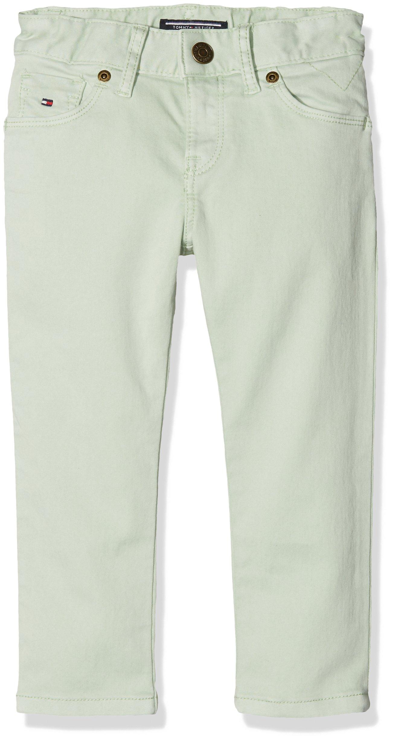 Tommy Hilfiger Ame Nora Skinny Stat GD Pantalones para Niñas