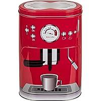 Hibuy - Boîte à Café Boîte de conservation au design «Machine à Espresso» Pour dosettes, poudre de café, cacao, sucre…