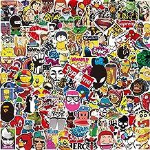 Pack Pegatinas [150-PCS],Q-Window Stickers Vinilo Graffiti Calcomanías Pegatina