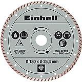 Originele Einhell diamantdoorslijpschijf (radiale tegelsnij-accessoires, diameter: 180 x Ø25,4 x 2,2 mm)