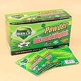 Green Leaf, High Quality, Cockroach Killing Bait 50 pcs Effective Powder, Insecticide Killer مسحوق القضاء على الصراصير
