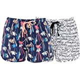 Romano Women Regular Shorts (Pack of 2)