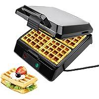 Leogreen   Macchina Per Waffle  Piastra Per Cialde  Argento  Funzione  Pu ograve  cucinare 4 cialde contemporaneamente  Standard Certificazione  LFGB