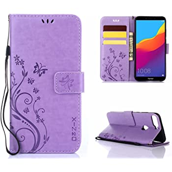 For Huawei Y7 Prime 2018 Shockproof Premium Leather Wallet Stand Flip Case Cover Cell Phone Accessories