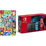 Nintendo Switch (Neon Red/Neon Blue) + Just Dance 2021 (Nintendo Switch)