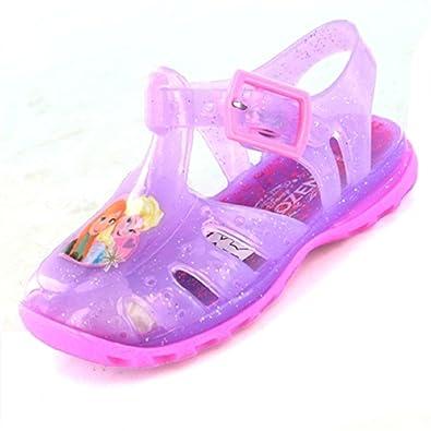 fd9e8d0c8e00 Disney Frozen Girls Jelly Sandal  Amazon.co.uk  Shoes   Bags